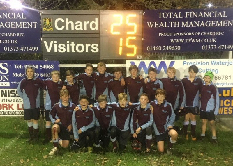 2017/18 Year 7 Boys Rugby District Champions