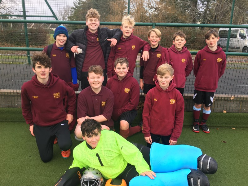 2017/18 Year 9 Boys Hockey County Champions