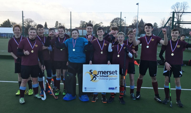 2017/18 Year 11 Boys Hockey County Champions