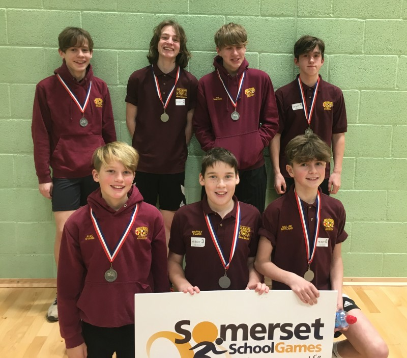 2017/18 Year 8 Boys Indoor Athletics Finalists