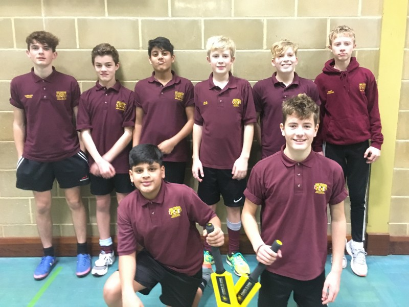 2017/18 U15 Boys Indoor Cricket