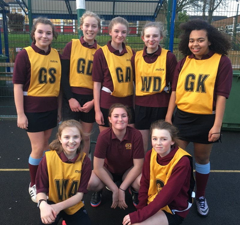 2017/18 Year 8 Girls Netball