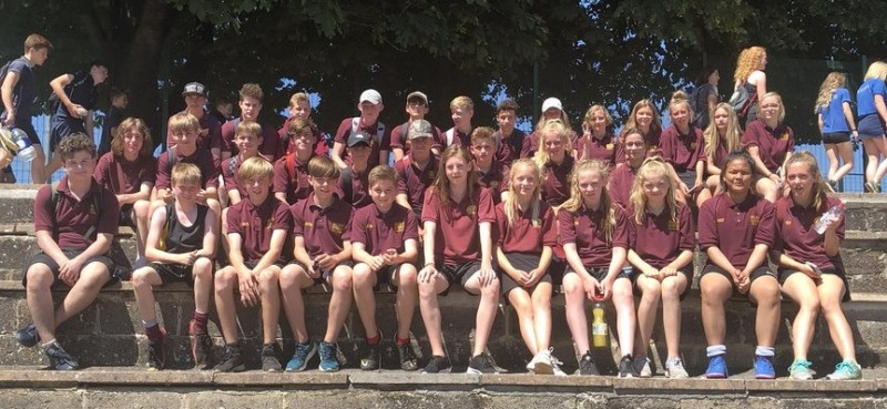 2017/18 Years 7, 8 and 9 Athletics Squad