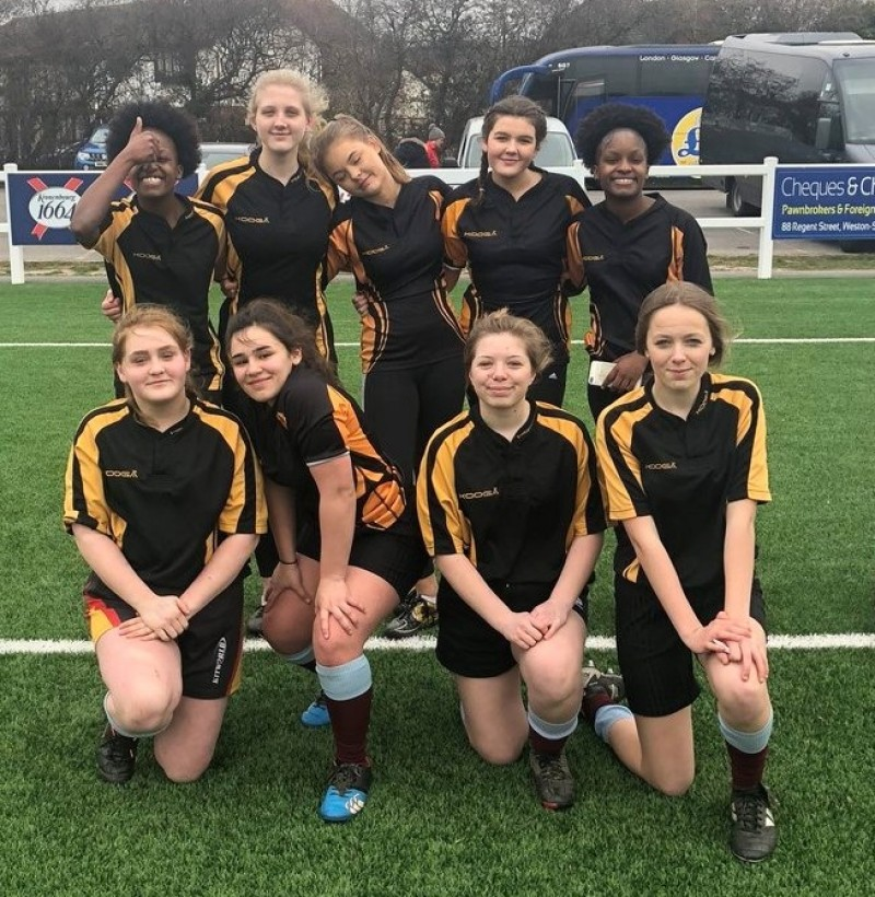 2017/18 U15 Girls Rugby