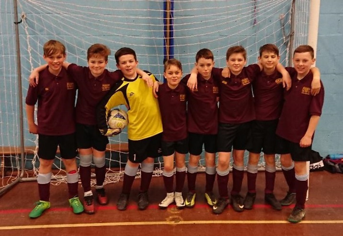 Year 7 Futsal: Through to County Finals!