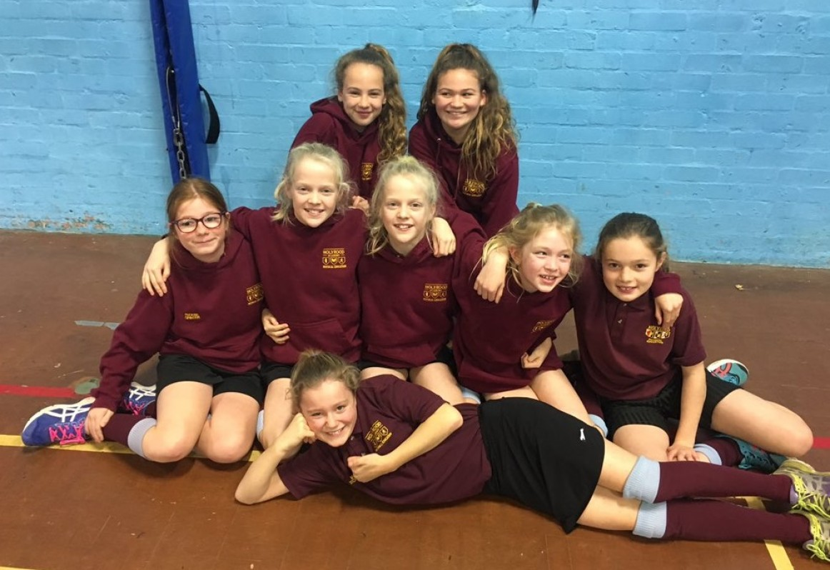 Year 7 Girls Indoor Athletics: Area Champions