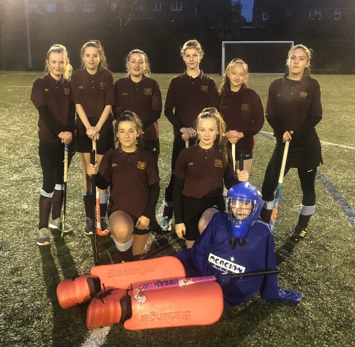 Year 8 Girls Hockey: Area Champions