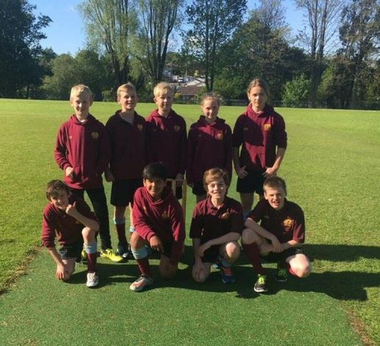 Year 7 Cricket Victory