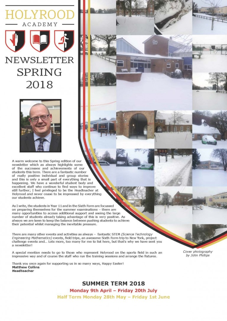 Spring Newsletter Out Now!