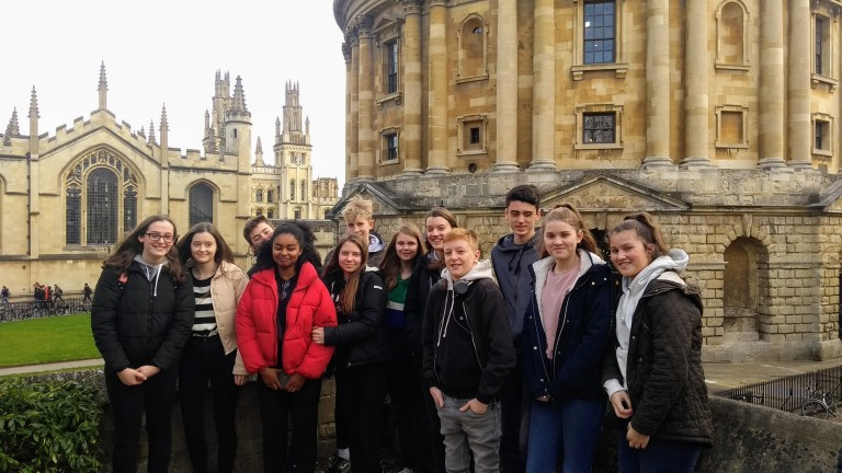 Year 10: Visit to Oxford University