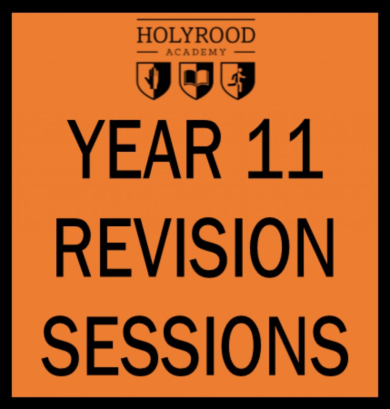 Year 11 Revision sessions start after half term