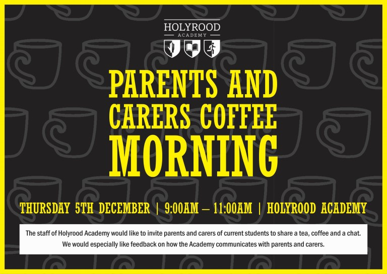 Parent / Carer Coffee Morning