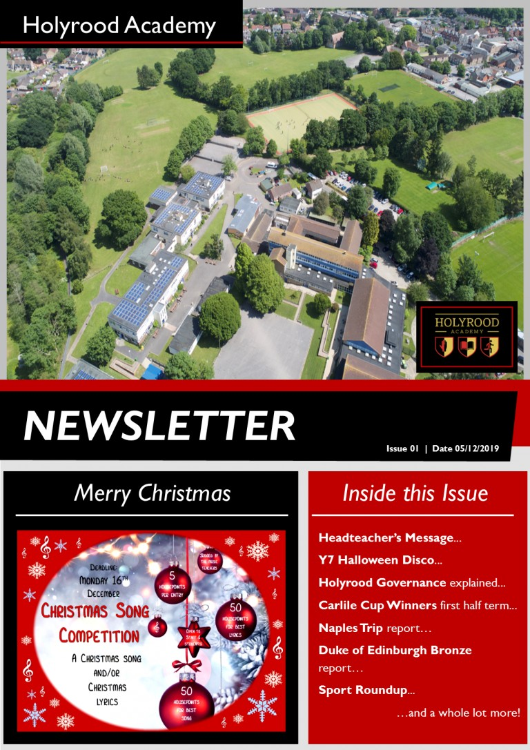 New Look NEWSLETTER out now!
