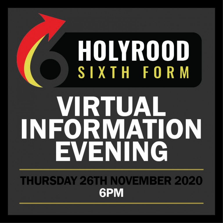AVAILABLE NOW! Sixth Form Information Evening 2020
