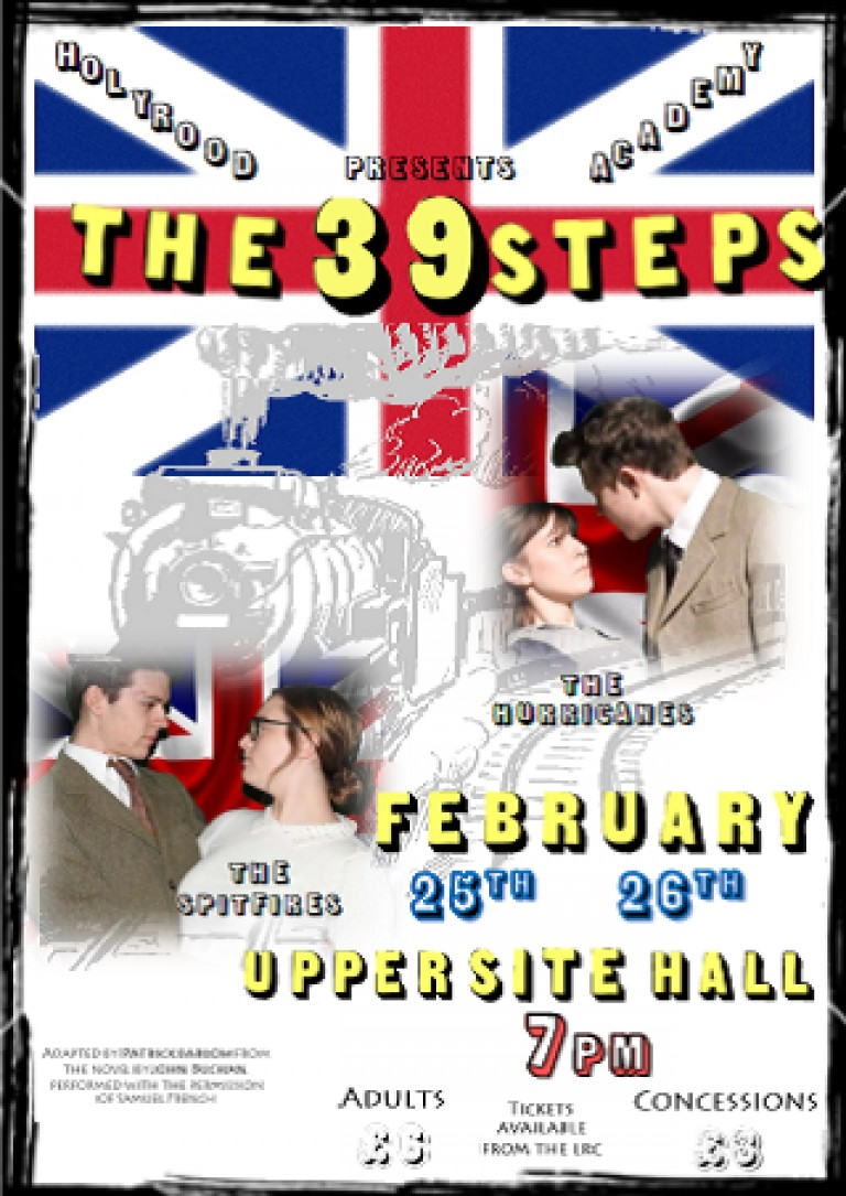 Get Your Tickets for The 39 Steps!
