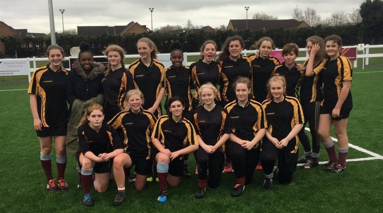 U15 Rugby Girls are SW Finalists