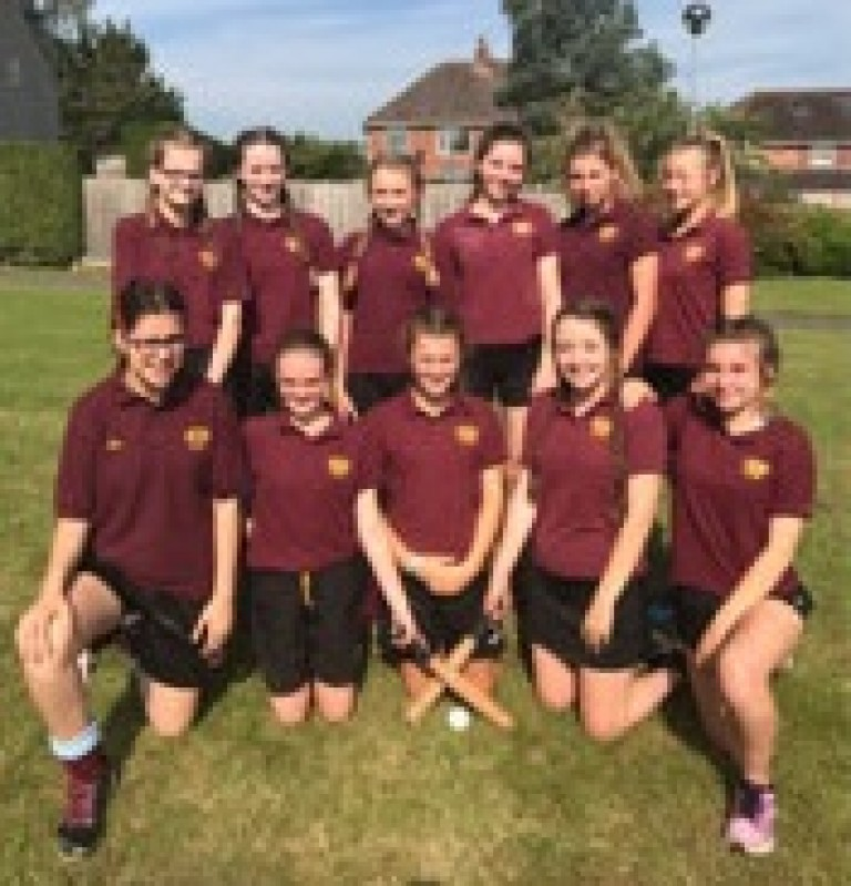 Our Year 9 Girls are Area Rounders Champions!