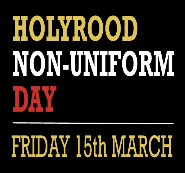 Non-Uniform Day on 15th March 2019